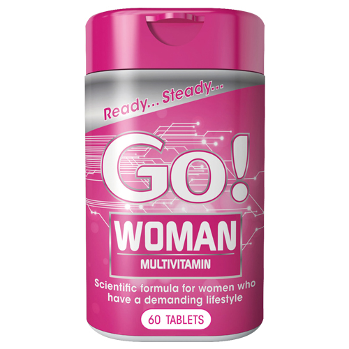 Go! Woman Tablets (New) 60s