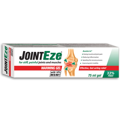 JointEze Warming Gel 75ml