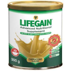 Lifegain Cappuccino (Gluten Free) 300g