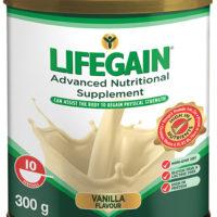 Lifegain Vanilla (Gluten Free) 300g
