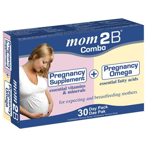 Mom2B Combo (Caps + Omega) Blister