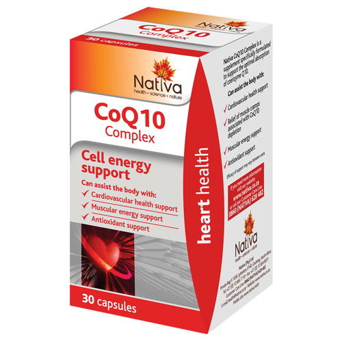 Nativa Range CoQ10 Complex 30's
