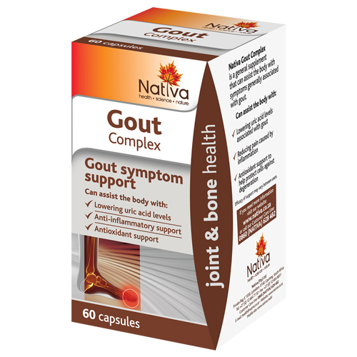 Nativa Range – Gout Complex 60 Caps